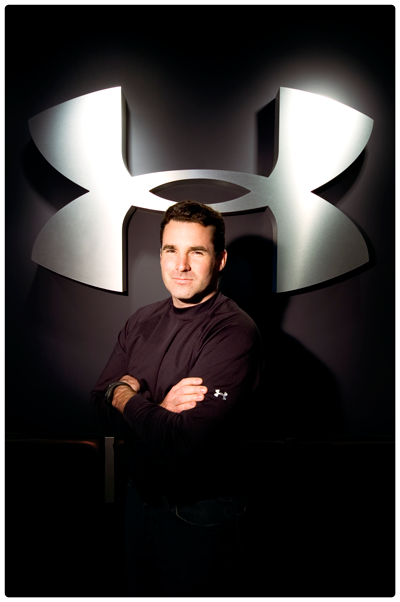 Kevin Plank, founder, CEO and Chairman of Under Armour